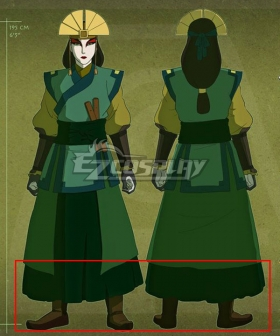 Avatar: The Last Airbender Kyoshi Brown Shoes Cosplay Boots