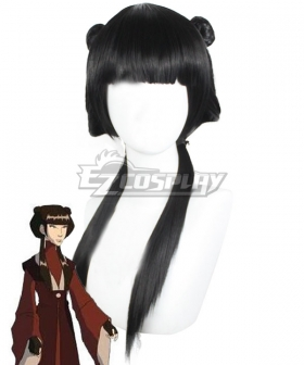 Avatar The Last Airbender Mai Black Cosplay Wig