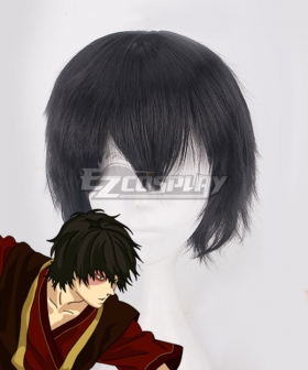 Avatar: The Last Airbender Prince Zuko Black Cosplay Wig