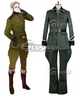 Axis Powers Hetalia APH Germany Ludwig Cosplay Costume