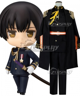 Axis Powers Hetalia Japan Kiku Honda Black Cosplay Costume