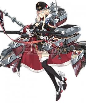 Azur Lane Bismarck New Edition Cosplay Costume