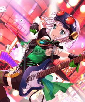 BanG Dream! Afterglow Persona Aoba Moca Cosplay Costume