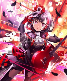 BanG Dream!  Afterglow Persona Mitake Ran Cosplay Costume