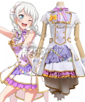 BanG Dream! Doki Doki Pastel*Palettes Wakamiya Eve Cosplay Costume