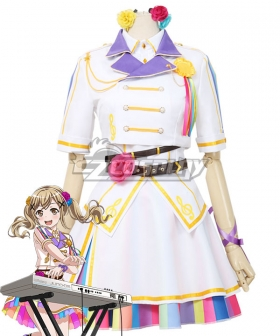 BanG Dream! Girls Band Party! Ichigaya Arisa A Fun Performance Cosplay Costume