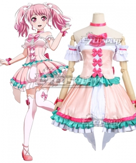 BanG Dream ! Girls Band Party! Maruyama Aya Cosplay Costume