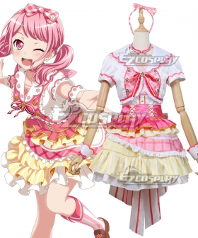 BanG Dream! Girls Band Party! Maruyama Aya Stubborn Cosplay Costume
