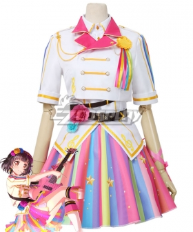 BanG Dream! Girls Band Party! Ushigome Rimi Now I'm Nervous Cosplay Costume