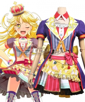 BanG Dream! Hello HappyWorld! 2nd Single Kokoro Tsurumaki Cosplay Costume