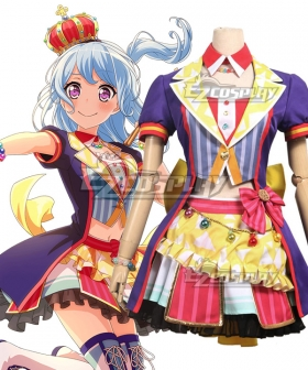 BanG Dream! Hello HappyWorld! 2nd Single Matsubara Kanon Cosplay Costume