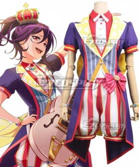 BanG Dream! Hello HappyWorld! 2nd Single Seta Kaoru Cosplay Costume