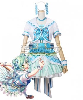 BanG Dream! Pastel*Palettes Hikawa Hina Everything Turned Out Fine Cosplay Costume
