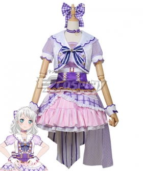 BanG Dream! Pastel*Palettes Wakamiya Eve Inexperienced Cosplay Costume