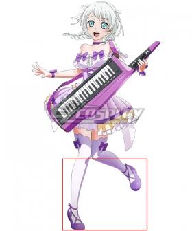 BanG Dream! Pastel*Palettes Wakamiya Eve Purple Cosplay Shoes