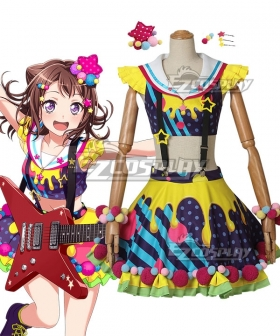 BanG Dream! Poppin'Party Kasumi Toyama Cosplay Costume