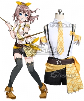 BanG Dream! Poppin' Party Yamabuki Saaya Cosplay Costume