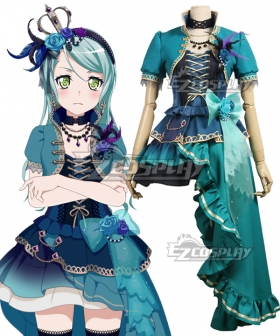 BanG Dream! Roselia Opera Of The Wasteland Hikawa Sayo Cosplay Costume