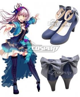BanG Dream! Roselia Opera Of The Wasteland Minato Yukina Blue Cosplay Shoes