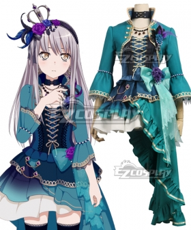 BanG Dream! Roselia Opera Of The Wasteland Minato Yukina Cosplay Costume