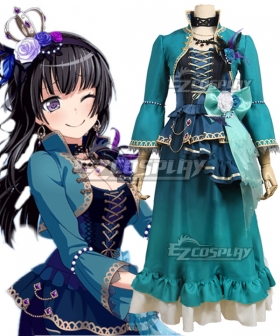 BanG Dream! Roselia Opera Of The Wasteland Shirokane Rinko Cosplay Costume