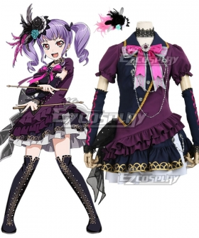 BanG Dream! Roselia Udagawa Ako BLACK SHOUT Cosplay Costume