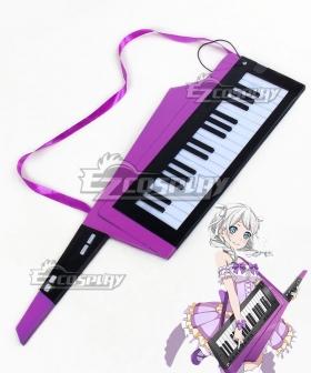 BanG Dream ! Wakamiya Eve Keyboard Cosplay Weapon Prop