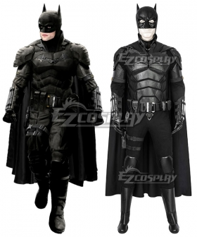 DC The Batman 2021  Bruce Wayne Robert Pattinson Cosplay Costume