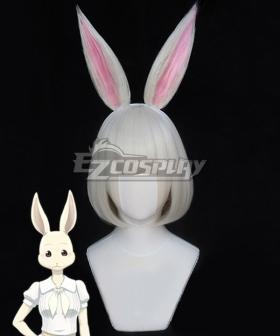 Beastars Haru Silver Cosplay Wig