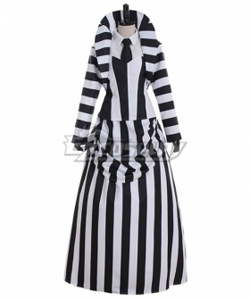 Beetlejuice Betelgeuse Halloween Cosplay Costume