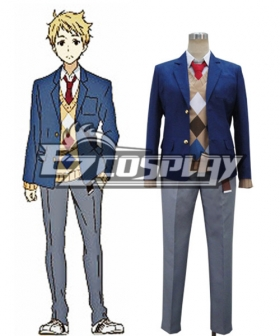 Beyond the Boundary Kyokai no Kanata Akihito Kanbara Cosplay Costume