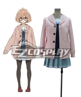 Beyond the Boundary Kyokai no Kanata Kuriyama Mirai Cosplay Costume