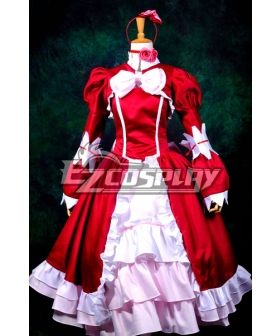 Black Bulter Elizabeth Red Dress Cosplay Costume