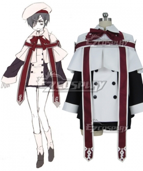 Black Butler Ciel Phantomhive Church  Choir Cosplay Costume