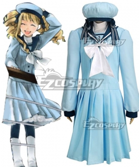 Black Butler Kuroshitsuji Movie: Book of the Atlantic Elizabeth Midford Cosplay Costume