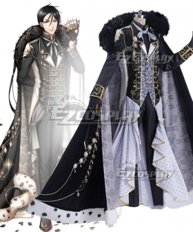 Yume 100 Sleeping Princes & the Kingdom of Dreams Black Butler Sebastian Michaelis Cosplay Costume