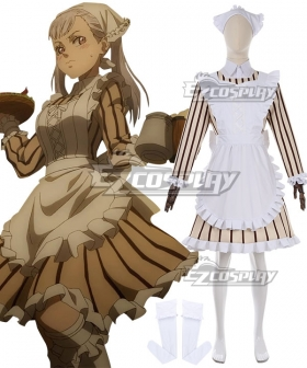 Black Clover Noelle Silva Maid Dress Cosplay Costume
