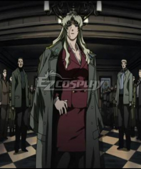 Black Lagoon Balalaika Cosplay Costume