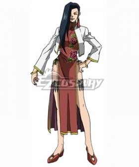 Black Lagoon Shenhua Cosplay Costume