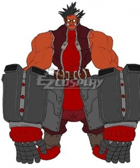 BlazBlue Iron Tager Cosplay Costume - No Armor