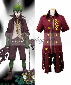 Blue Exorcist Ao no Exorcist King of Earth Amaimon Cosplay Costume - B Edition