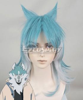 BNA Brand New Animal Shirou Ogami Blue Cosplay Wig
