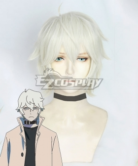 BNA Brand New Animal Shirou Ogami White Cosplay Wig