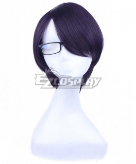 Brother Conflict Asahina Azusa Purple Cosplay Wig
