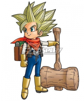 Dragon Quest Builders 2 Male Protagonist Cosplay Costume