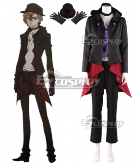Bungou Stray Dogs DEAD APPLE Chuya Nakahara Cosplay Costume