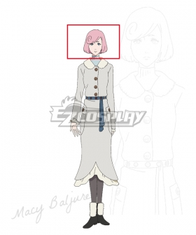 Burn The Witch Macy Baljure Pink Cosplay Wig