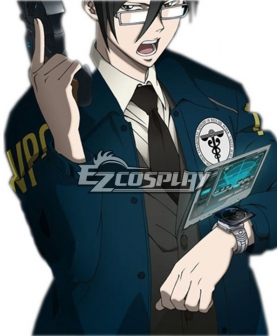 Psycho Pass Ginoza Nobuchika officer Cosplay Coat