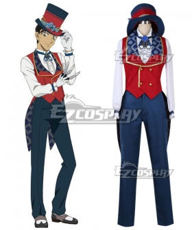 Case Closed Detective Conan Shuichi Akai Secret Magic Show Cosplay Costume