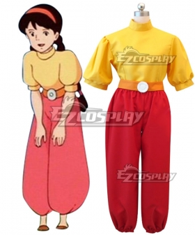 Castle in the Sky Princess Sheeta Cosplay Costume